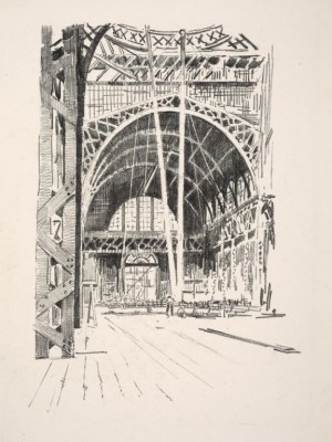 Washburn, Exposition Palace Interior
