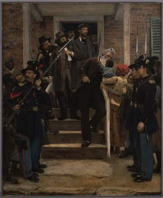 "Thomas Hovenden, ""The Last Moments of John Brown,"" ca. 1884"