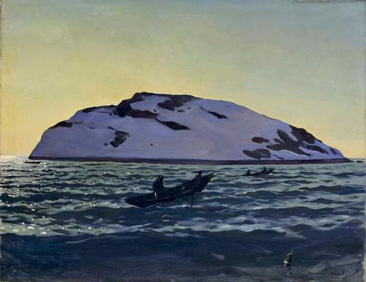 "Rockwell Kent, ""Afternoon on the Sea, Monhegan,"" 1907"