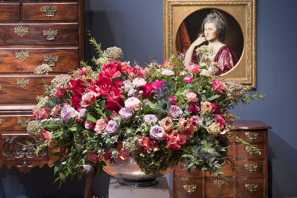Bouquets to Art at the de Young museum