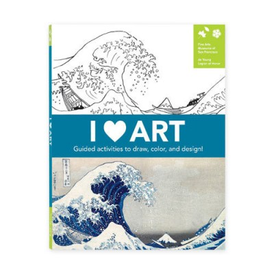 Photo of I Heart Art activity journal