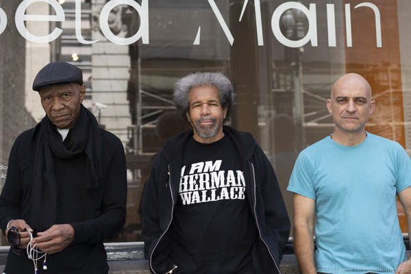 In Conversation: Dr. Robert King + Albert Woodfox of the Angola 3 with Artist, Rigo 23