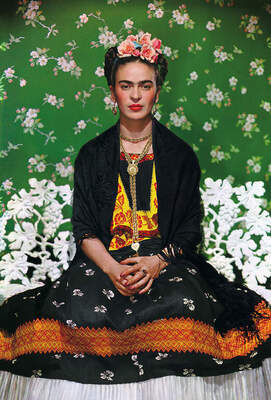 Nickolas Muray, Frida on Bench, New York City, 1939