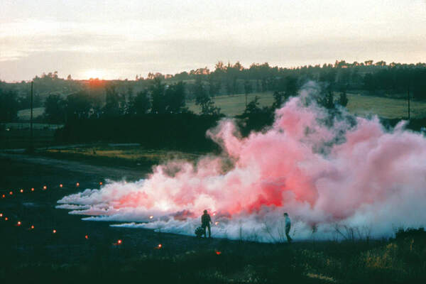 "Judy Chicago, ""Pink Atmosphere"""