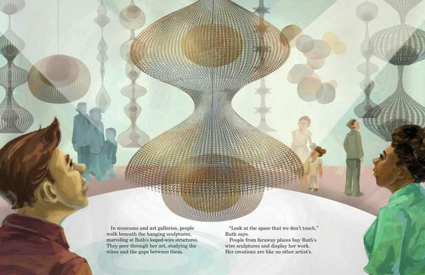 """Photo from """"Ruth Asawa: A Sculpting Life"""", courtesy of artist"""