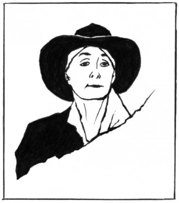 Portrait of Georgia O'Keeffe by Jo Ann Stabb