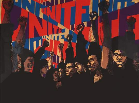 "Barbara Jones-Hogu, ""Unite"" (detail), 1971"