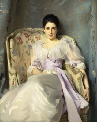 John Singer Sargent, Lady Agnew of Lochnaw, 1892. Oil on canvas. Scottish National Gallery