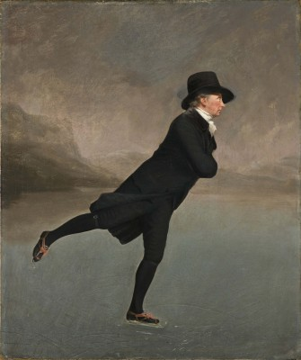 Sir Henry Raeburn, Revd. Robert Walker, Skating on Duddingston Loch, ca.1795. Oil on canvas. Scottish National Gallery