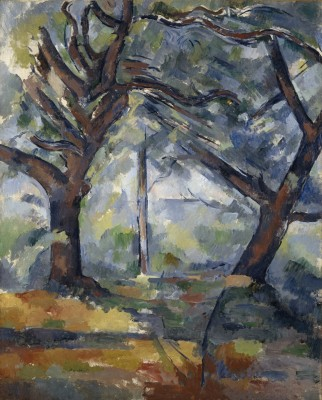 Paul Cézanne, The Big Trees, ca. 1904. Oil on canvas. Scottish National Gallery