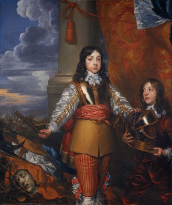 William Dobson, Charles II, ca. 1642. Oil on canvas. Scottish National Portrait Gallery