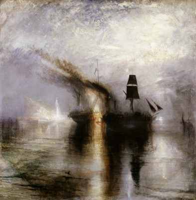 Joseph Mallord William Turner, Peace—Burial at Sea, exhibited 1842. Oil on canvas. Tate, accepted by the nation as part of the Turner Bequest, 1856, N00528. Image © Tate, London 2015