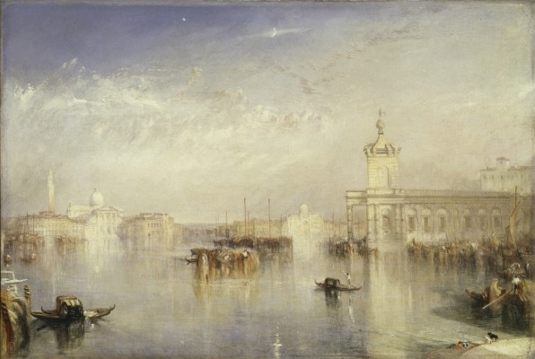 Joseph Mallord William Turner, The Dogano, San Giorgio, Citella, from the Steps of the Europa, exhibited 1842. Oil on canvas. Tate, presented by Robert Vernon 1847, N00372. Image © Tate, London 2015
