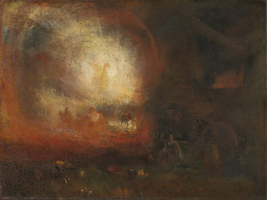 Joseph Mallord William Turner, The Hero of a Hundred Fights, ca. 1800–1810, reworked and exhibited 1847. Oil on canvas. Tate, accepted by the nation as part of the Turner Bequest, 1856, N00551. Image © Tate, London 2015