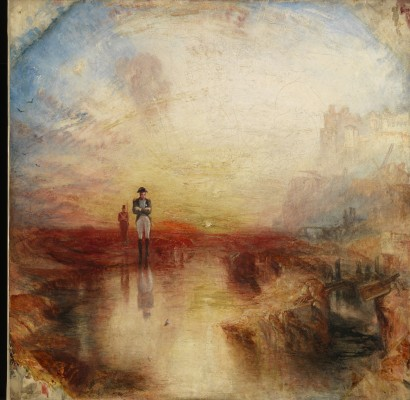 Joseph Mallord William Turner, War. The Exile and the Rock Limpet, exhibited 1842. Oil on canvas. Tate, accepted by the nation as part of the Turner Bequest, 1856, N00529. Image © Tate, London 2015