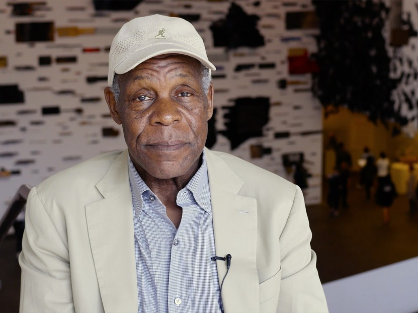 Actor Danny Glover comments on the exhibition Revelations: Art from the African American South at the de Young